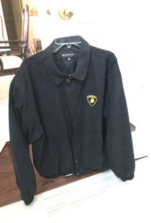 Lamborghini jacket XL. Micro- Suede for Sale in La Verne, CA