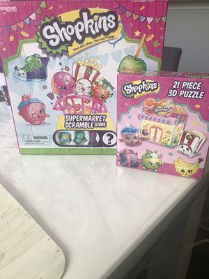 Shopkins Game and Puzzle for Sale in Hiram, GA