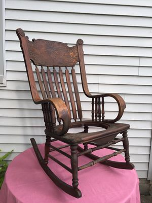 Antique Rocking Chair-(1800's?) for Sale in Allen Park, MI