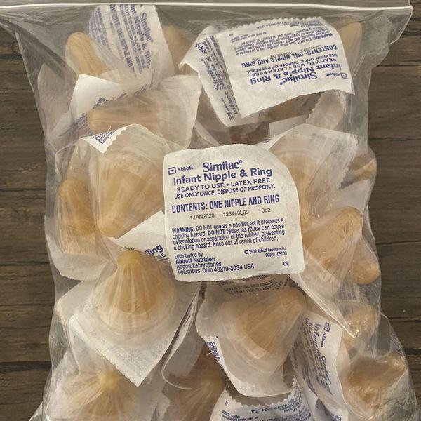 Similac Infant Nipple & Ring 50 Pack