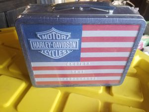 Harley Davidson lunch box for Sale in San Diego, CA