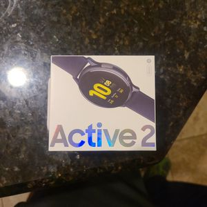 Samsung Galaxy Watch Active 2 (44mm) Black for Sale in Federal Way, WA