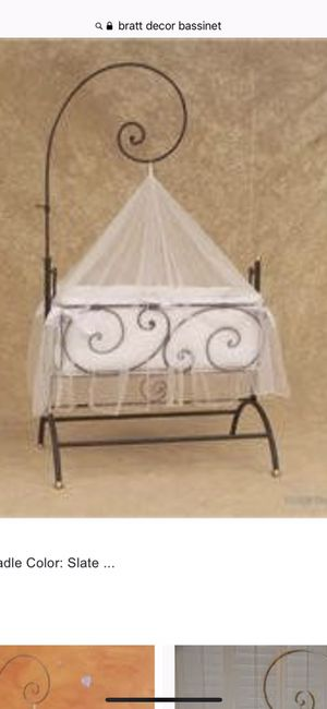 Bratt Decor baby furniture. Set included designer signed crib, bassinet, changing table and 2 coat racks...all pieces must be sold as set $350 for Sale in Downers Grove, IL