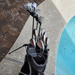 Set Of Taylor Made Golf Clubs, Includes SLDR Driver for Sale in Tempe,  AZ