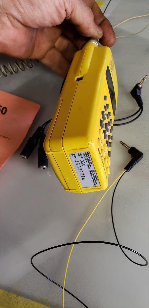 Race track scanner for race tracks.