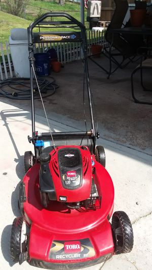 Toro self-propelled 7.25 personal peace for Sale in St. Louis, MO