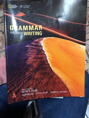 Grammar for Great writing A for Sale in Haledon, NJ