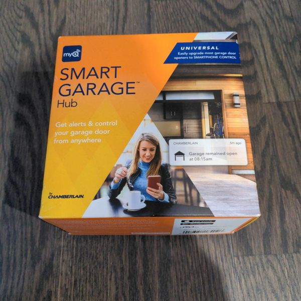 myQ Smart Garage Hub - Control Garage From Anywhere