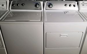 """""""WHIRLPOOL"""" MATCHING SET WASHER & ELECTRIC DRYER SUPER CAPACITY PLUS 3.8 cu fT for Sale in Phoenix, AZ"""