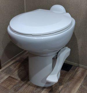 Thetford Aqua Magic Style II RV Camper Trailer Gravity Flush Toilet / 17.5 inches tall / White for Sale in FL, US