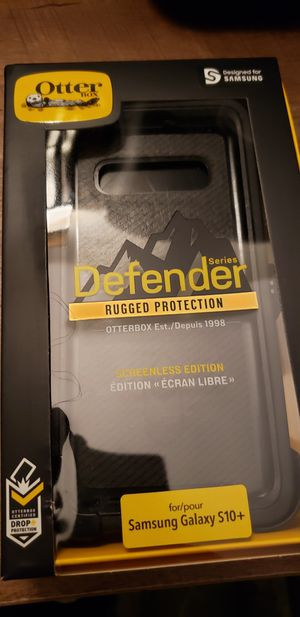 For Samsung Galaxy S10 Plus. Otterbox Defender Rugged Protection. for Sale in Yonkers, NY