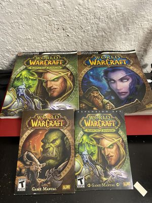 World of Warcraft battle chest guides and game manuals for Sale in Homestead, FL