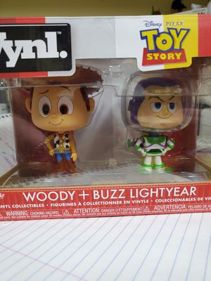 Pop figures buzz lightyear and Woody vinyl for Sale in Land O Lakes, FL