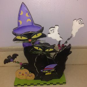 Witch Cat Halloween decorations for Sale in Port Richey, FL