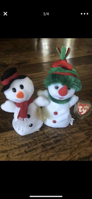 TY BEANIE BABIES HOLIDAY FAVORITES- TOTAL OF FOUR (see photos) for Sale in Newport Beach, CA