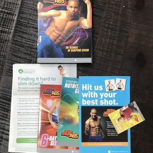 DVD Hip Hop Abs Workout Videos Just $3 For All for Sale in Port St. Lucie, FL