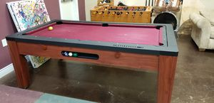 Reversible pool/air hockey table for Sale in Morgan Hill, CA