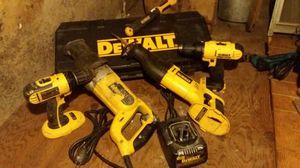 Used 5 Pc, DeWalt Set for Sale in Wichita, KS