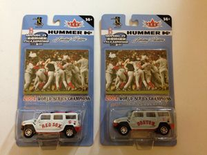 Red Sox 04 World Series hummer set for Sale in Waltham, MA