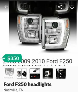 FORD F250 HEADLIGHTS for Sale in Nolensville, TN