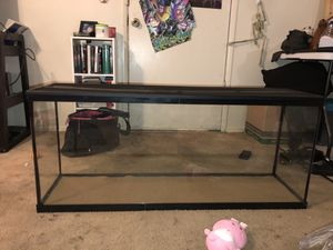 55 Gallon reptile or fish tank for Sale in Bremerton, WA