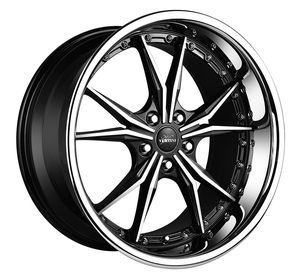 Vertini Dark knight machined black wheel, rim and tire packages available! No credit financing for Sale in Tempe, AZ
