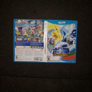 Pokken Tournament for Nintendo WiiU for Sale in Redding, CA