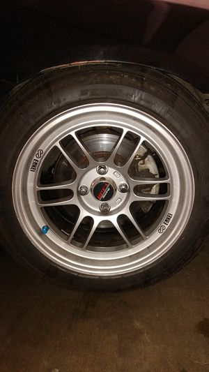 Enkei 4-lug rims/ asking $400 for all four, or $100 each for Sale in Seattle, WA