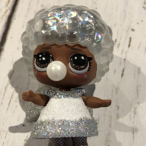 LOL Surprise Winter Disco Glitter Globe Doll Bashful QT Angel