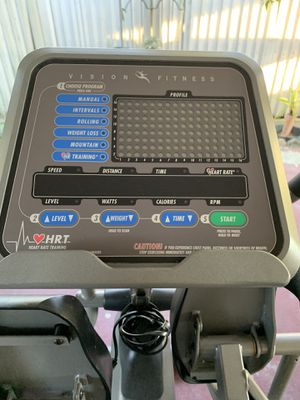 Vision Fitness Elliptical Machine for Sale in Miami, FL
