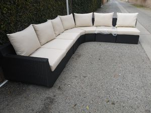 Outdoor patio sectional sofa for Sale in Los Angeles, CA