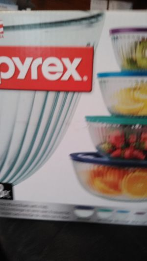 Pyrex glass bowls for Sale in Tulsa, OK