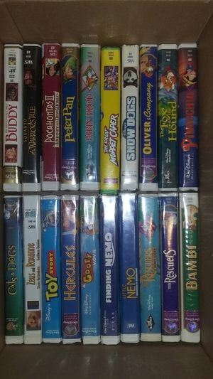 Classic vhs Disney movies for Sale in Sandy, OR