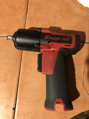 Snap on Ct761 impact gun 3/8 14.4v cordless for Sale in Garden Grove, CA