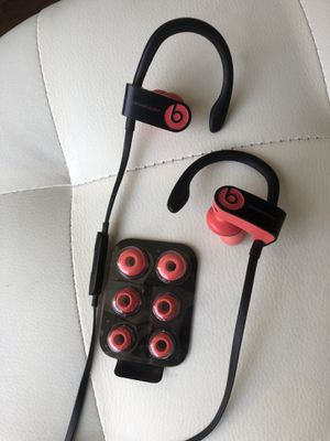 Brand new without box BEATS wireless Dre Powerbeats headphones paid $198 for Sale in San Diego, CA
