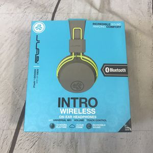 NEW!!! JLab Intro Wireless Bluetooth On-Ear Headphones - Green for Sale in Montclair, CA