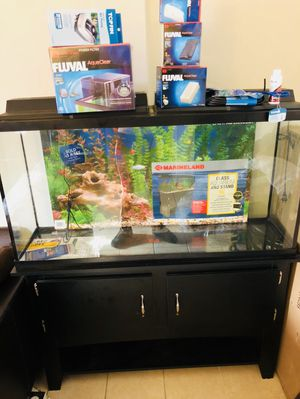 Brand new fish tank and as aseries Never been use for Sale in Miami, FL