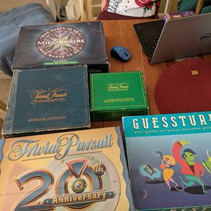 4 Different Board Games 3.00 Each for Sale in Manchester Township, NJ