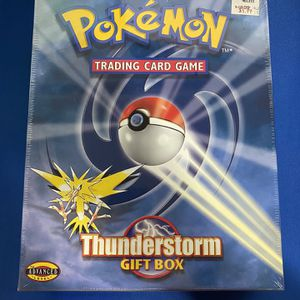 Pokemon Thunderstorm Gift Box SEALED (Vintage) for Sale in Tempe, AZ