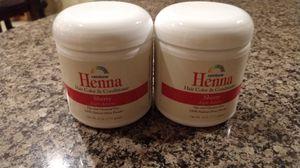 Brand new - Henna for Hair - 2 - 4oz jars for Sale in Hemet, CA