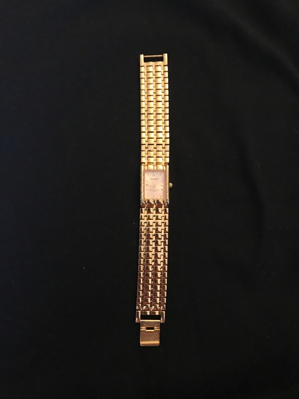 18k Seiko watch
