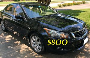 ✅📗URGENTLY $8OO I sell my family car 2OO9 Honda Accord Sedan EX-L Runs and drives very smooth.Clean title!!✅📗 for Sale in Worcester, MA