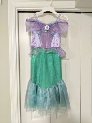 Kids Costumes: Disney Store Ariel Gown (Size 5/6) for Sale in DULLES, VA
