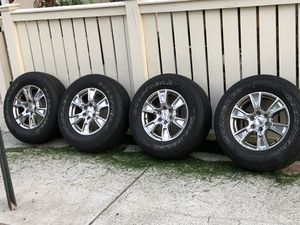 Ford F-150, Set of 4 tires/wheels for Sale in Alexandria, VA