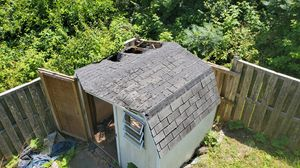 Free shed--needs repair to roof and possibly floor for Sale in Frederick, MD