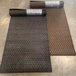 NEW Commercial Grade Heavy Duty 3x5 Feet Scraper Mat Front Door Entrance Way Thick Outdoor Indoor Carpet Brown or Grey Color for Sale in Los Angeles,  CA