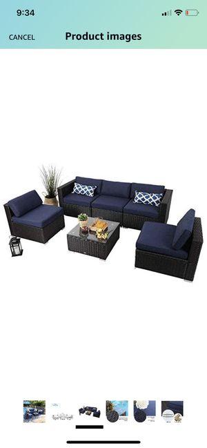 Phi Villa 6 piece outdoor patio set for Sale in Queen Creek, AZ