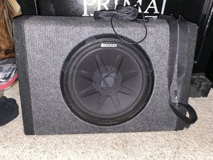 Kicker Subwoofer for Sale in Crosby, TX