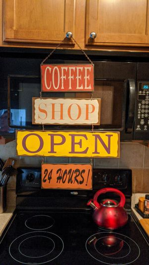 Coffee Shop. Metal sign for Sale in Apex, NC