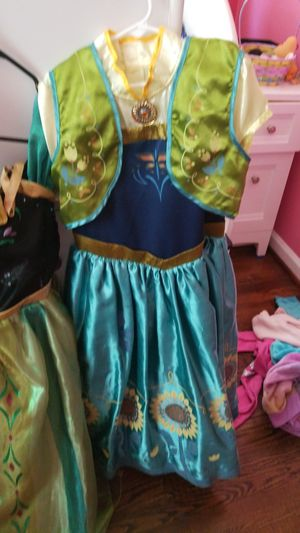 Anna disney costume 9/10 never used for Sale in Silver Spring, MD